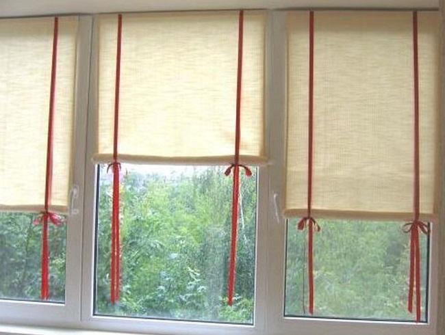 Рулонных штор на пластиковые окна своими руками с
