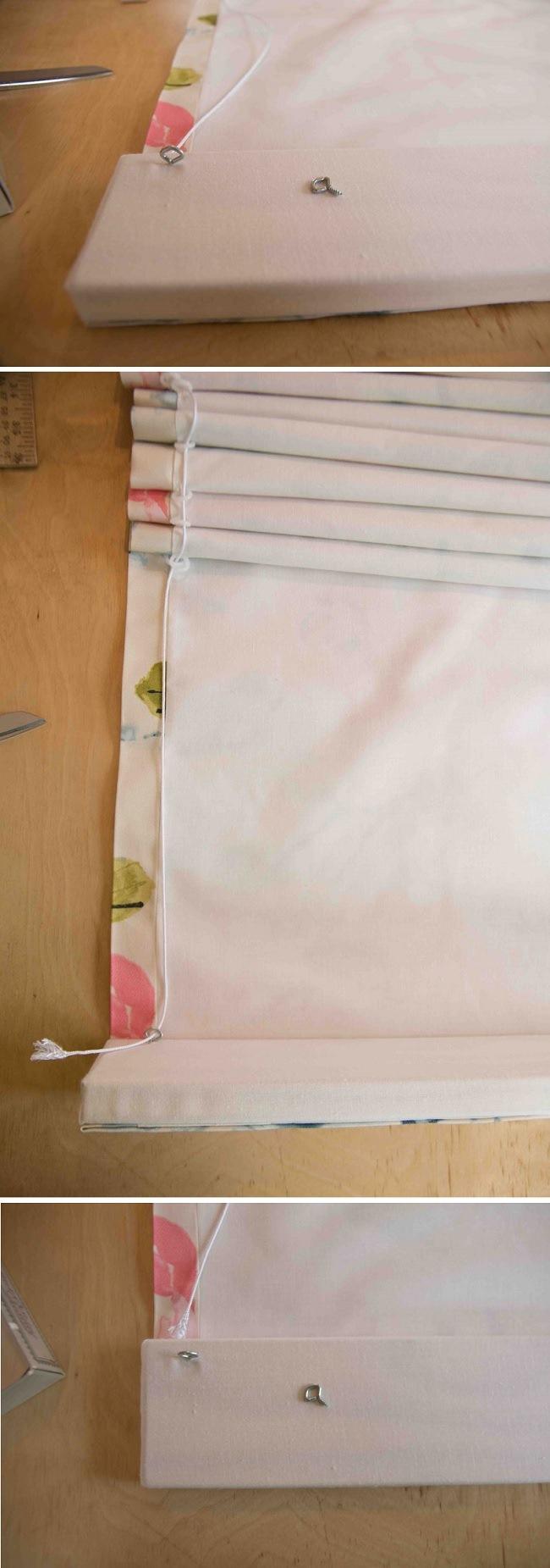 Как самостоятельно сделать рулонную штору своими руками 30