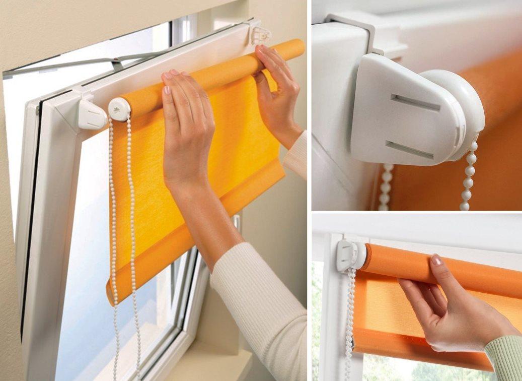 Жалюзи шторы на пластиковые окна своими руками 63