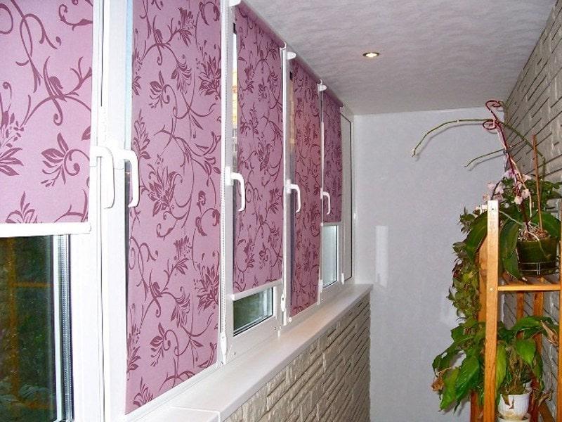 Как выбрать жалюзи на балкон или лоджию - рекомендации, фото.