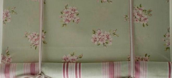 Изготовление рулонных штор из ткани своими руками