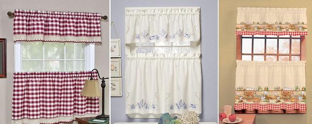 миниатюрные шторки выполняют в основном декоративную функцию и не защитят комнату от яркого солнечного света