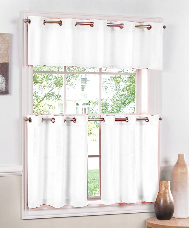 занавески бабушкино окно на люверсах