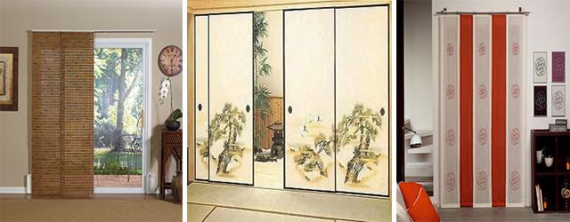 Экранные шторы вместо дверей