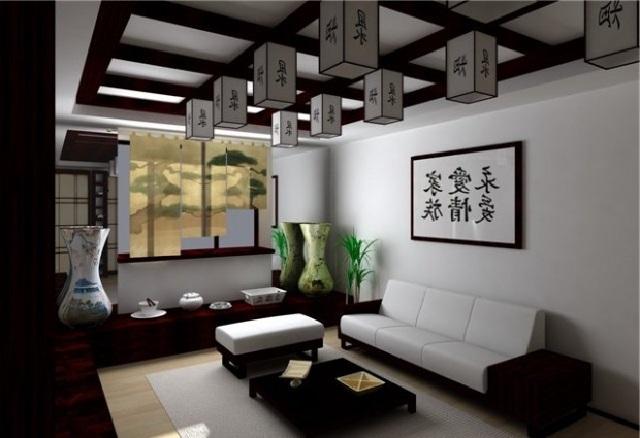 Комната в аутентичном японском стиле