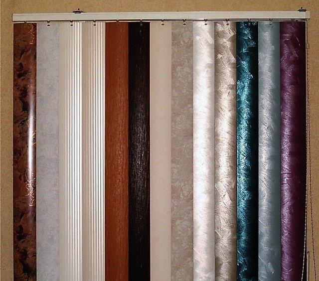 Пластиковые ламели отличаются разнообразием цветов и оттенков