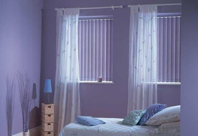 Тканевые жалюзи гармонично сочетаются с другими видами штор