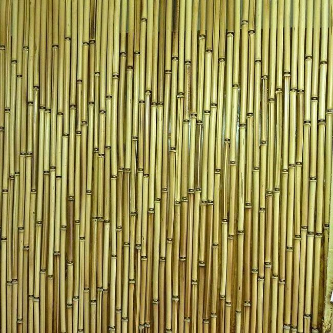Занавеси из бамбука
