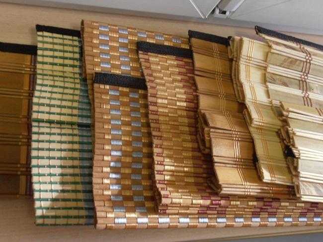 разновидности рулонных бамбуковых штор