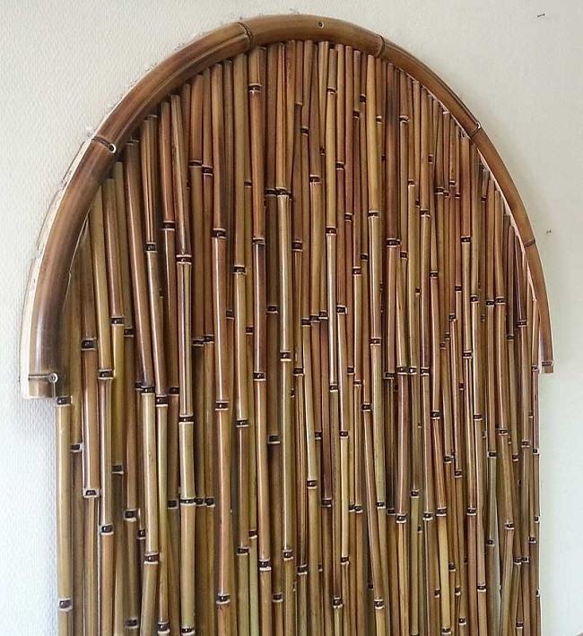 Занавески из бамбуковых палочек