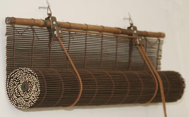 Бамбуковые шторы рулонной сборки