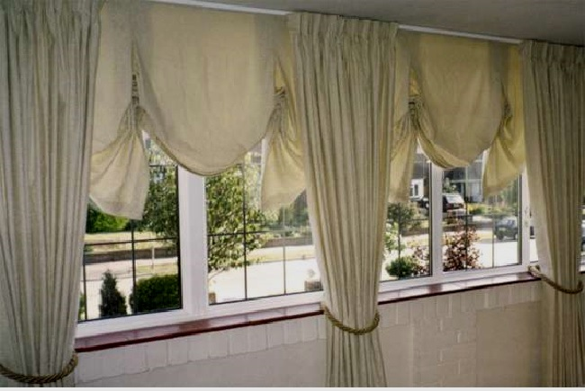 лондонские шторы и портьеры