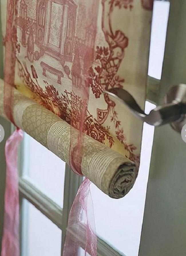 Подъемные ленты к рулонным шторам можно сделать из разных материалов