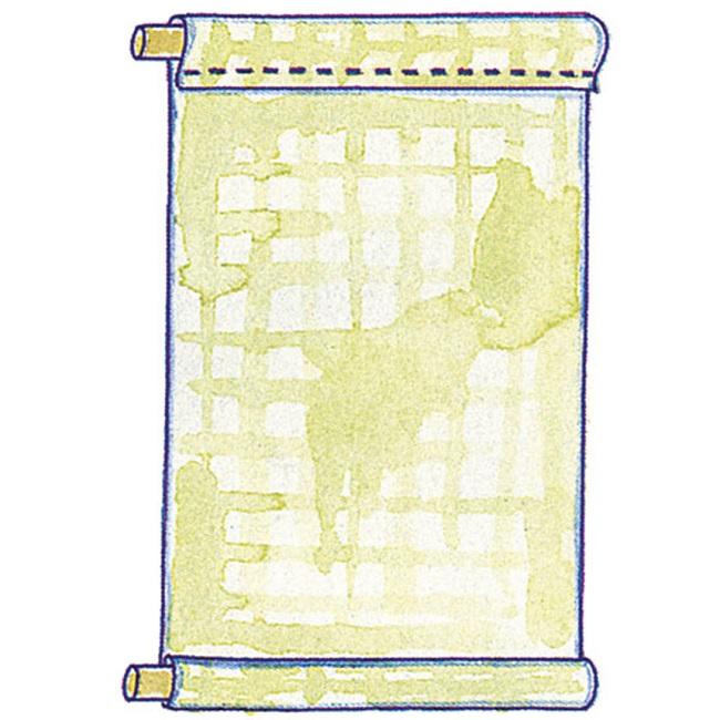 первый этап при пошиве рулонной шторы своими руками