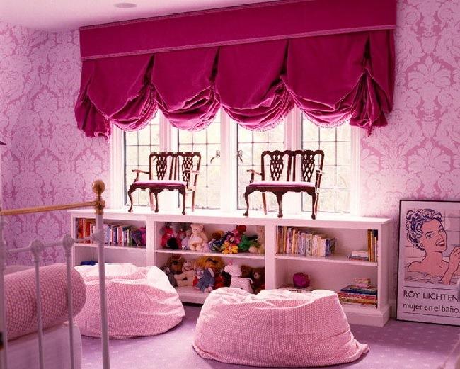 английские шторы для детской комнаты