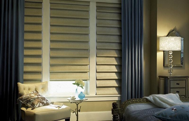Что такое подъемные римские шторы
