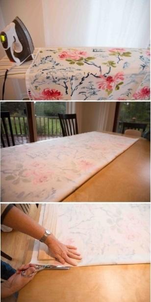 Мягкая римская штора изготовление шаг 2 фото 1