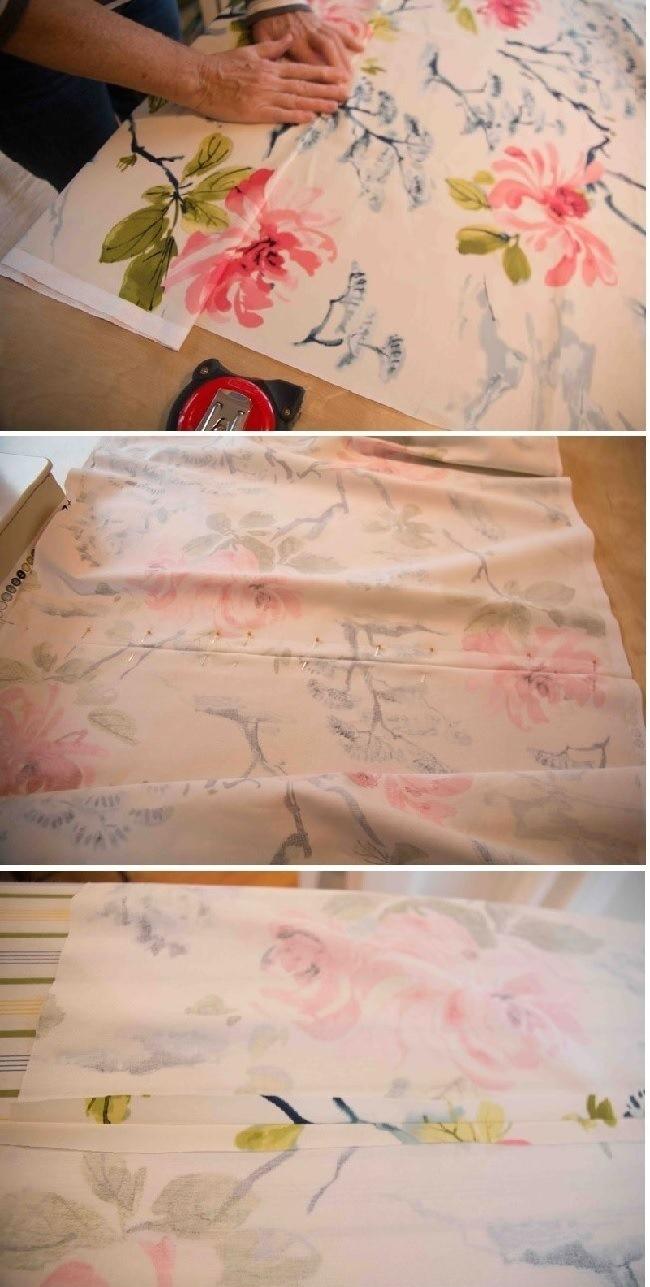 Мягкая римская штора изготовление шаг 2 фото 2