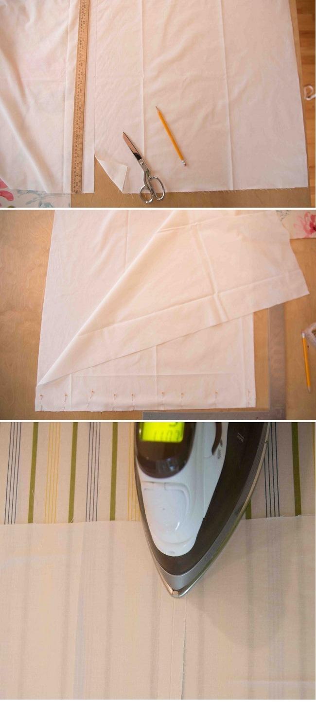 Мягкая римская штора изготовление шаг 3 фото 1