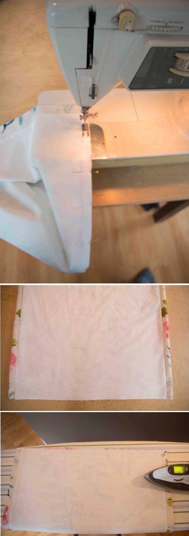 Мягкая римская штора изготовление шаг 3 фото 2