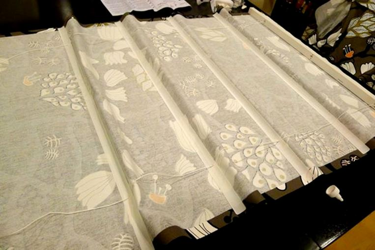 Римские шторы из жалюзи изготовление шаг 6 фото 2