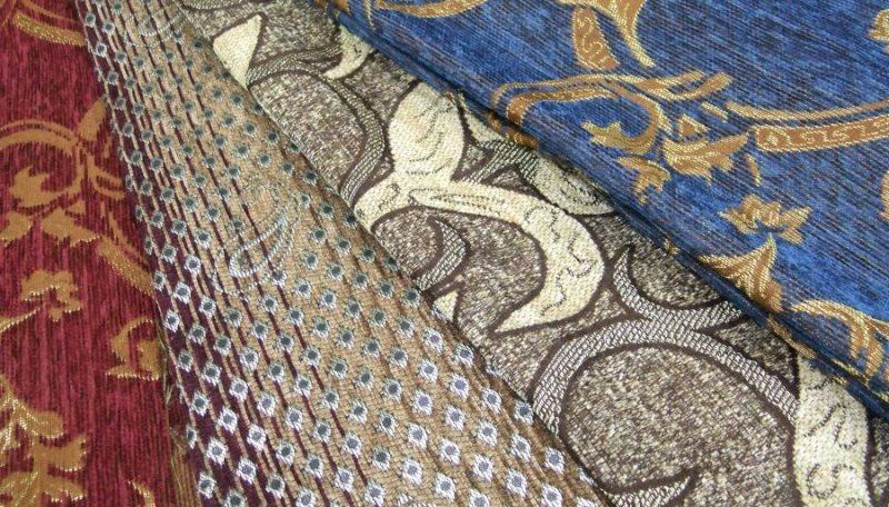 современные ткани из гобелена