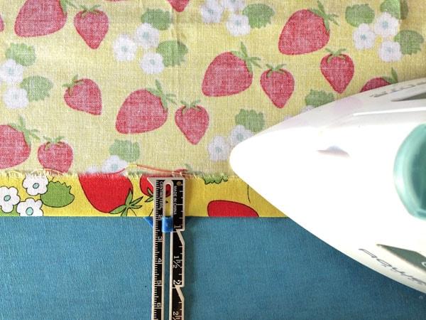 как сшить шторы на подкладке шаг 1
