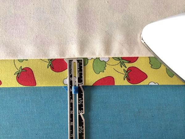 как сшить шторы на подкладке шаг 14