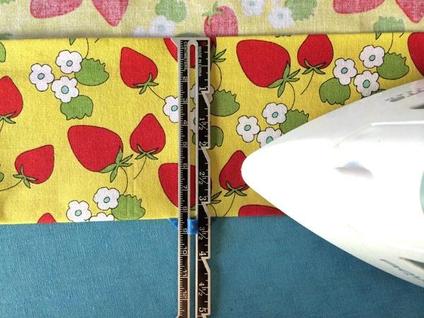 как сшить шторы на подкладке шаг 2