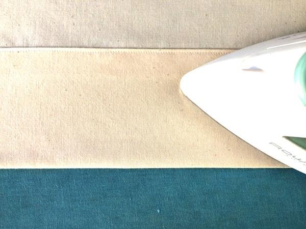 как сшить шторы на подкладке шаг 8