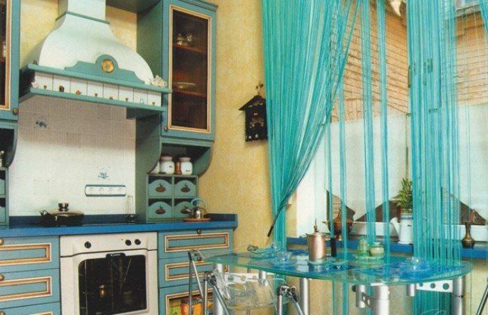 шторы кисея на кухню