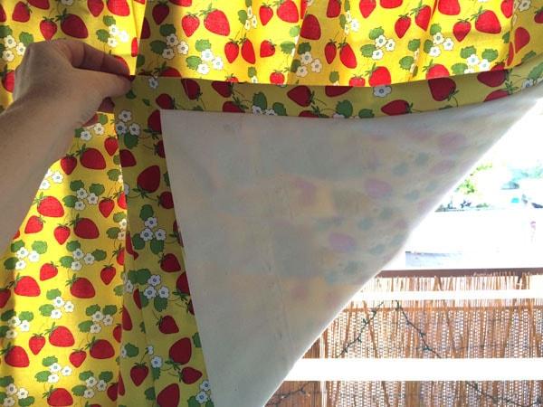 сшить шторы на подкладке мастер-класс