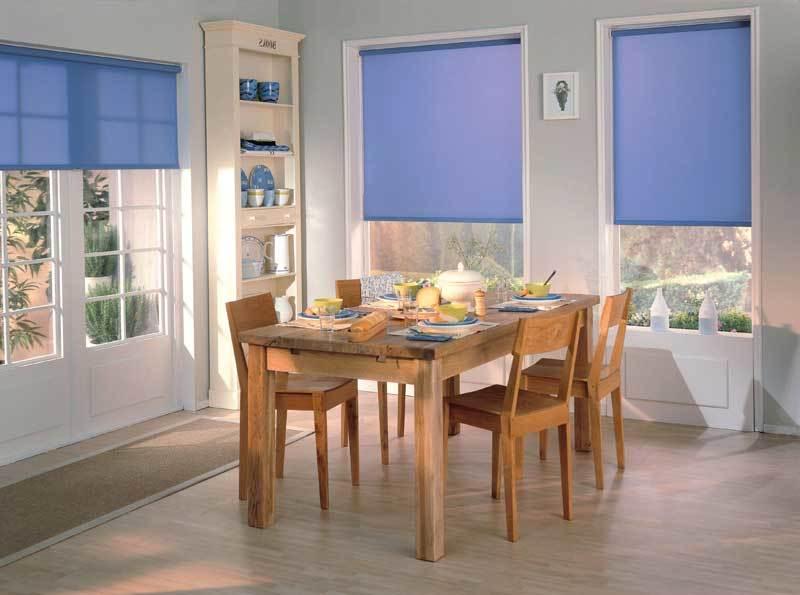 что такое рулонные шторы и как они выглядят в интерьере