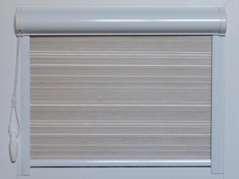 кассетные рулонные шторы уни