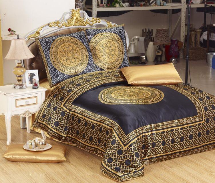 постельное белье из атласа
