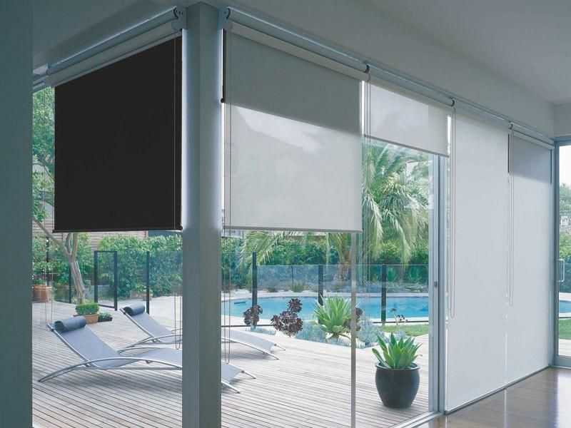рулонные шторы двойная модель