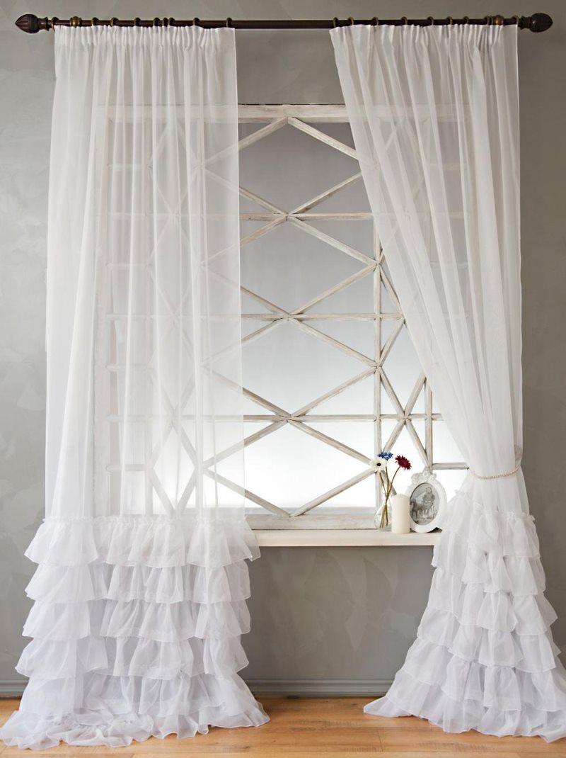шторы из фатина