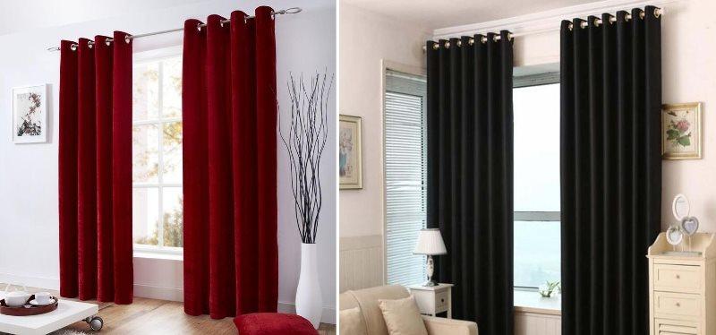 шторы из софта с люверсами для гостиной