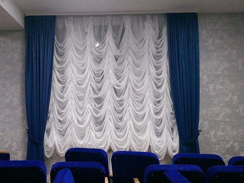 шторы маркизы в конференц зале