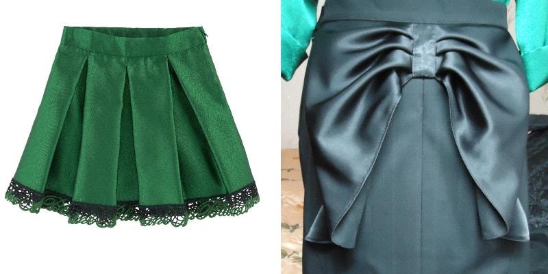 юбки из тафты