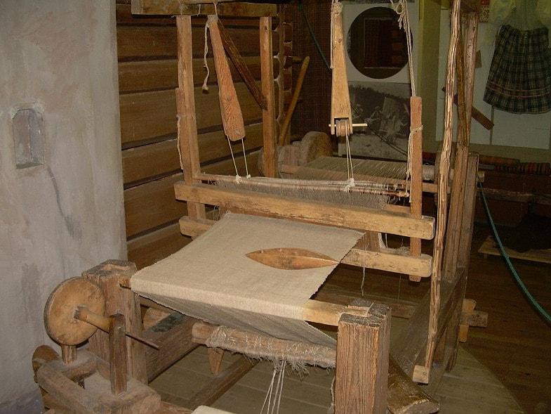 древний ткацкий станок
