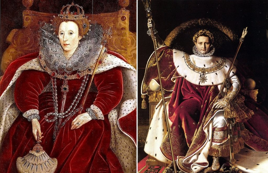 монархи в бархате