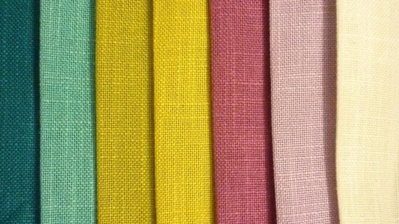 расцветки ткани