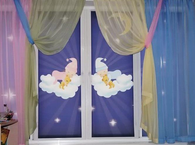 рулонные шторы в детскую комнату