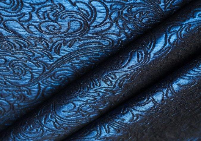 Жаккардовые ткани, что это за вид материала – состав, разновидности, описание