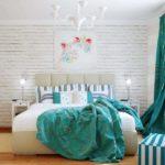 шторы в скандинавском стиле в интерьере квартиры