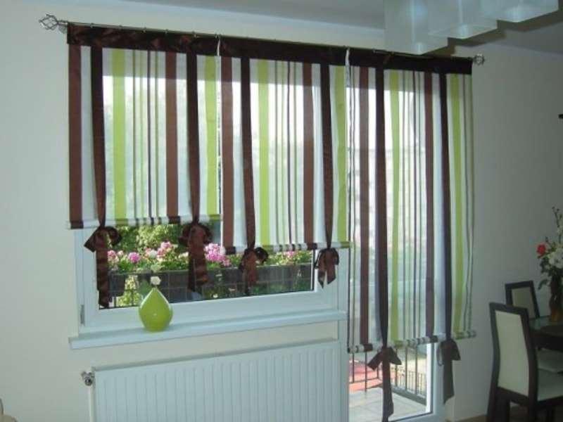 для окна с балконной дверью