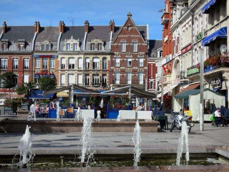 городок Камбре во Франции