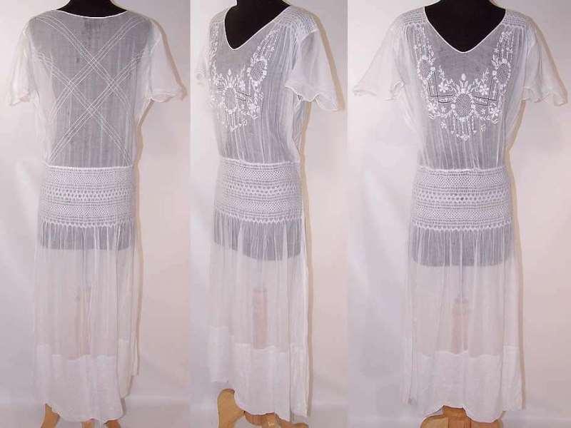 платье из нежной ткани