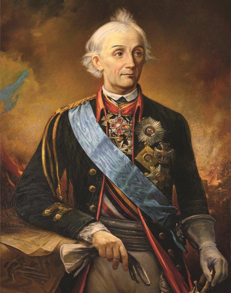 портрет Суворова А В